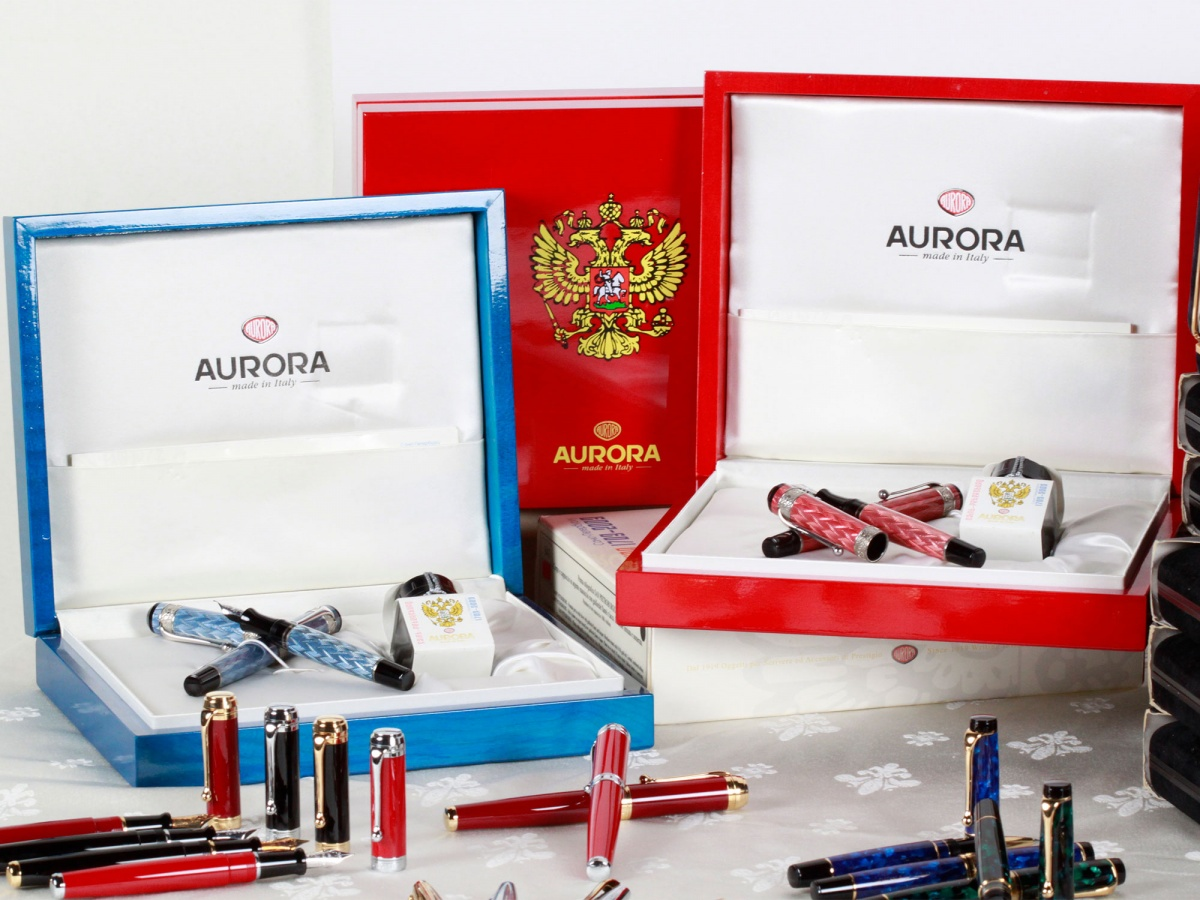 Aurora fountain pens rare collection