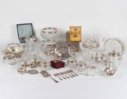 Sterling Silver, Crystalware, Collectibles and much more