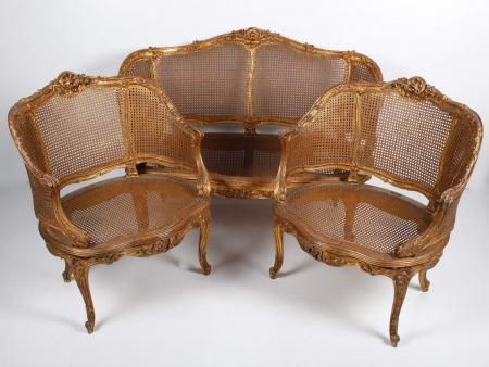 Louis XVI Style Lounge Furniture - IB00065