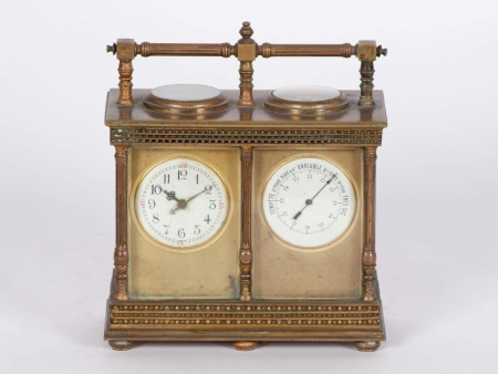 Officer Carriage Clock 19th Century - IB00125