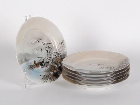 Six 19th Century Japanese Plates - IB00160