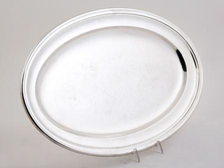 Maison Arthaud Silver Plated Metal Platter - IB00177