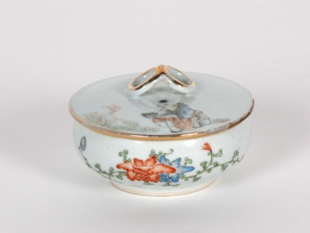 Chinese Porcelain Candy Bowl - IB00197