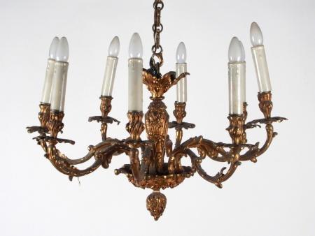Louis XVI Style Bronze Chandelier - IB00322