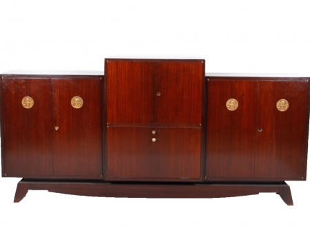 Art Deco Sideboard Cabinet in Rosewood Veneer - IB00346
