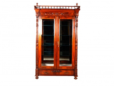 Large Henry II Style Display Case - IB00374