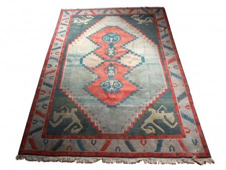Turkish Carpet with Geometrical Design - IB00557