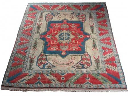 Turkish Carpet with Geometrical Design - IB00560