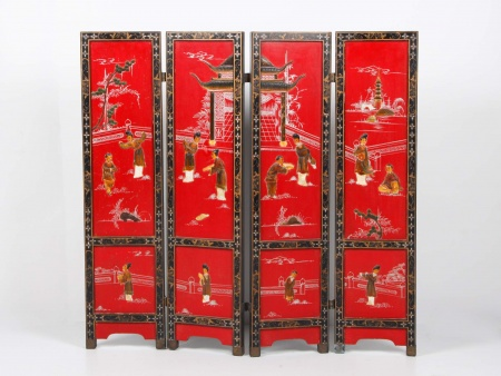 Chinese Screen with Four Panels - IB00616