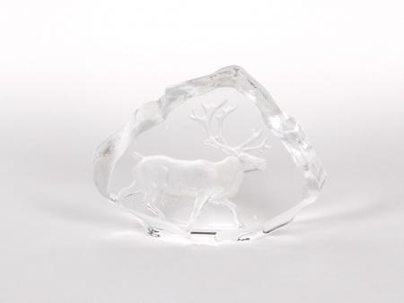 Swedish Crystal Cut Sculpture - IB00623