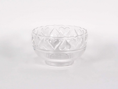 Tiffany & Co Crystal Heart Bowl - IB00647