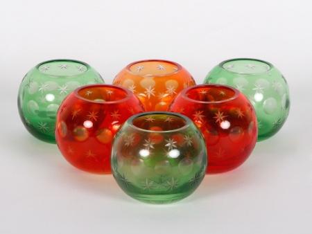 Six Saint Louis Style Candleholders - IB00654