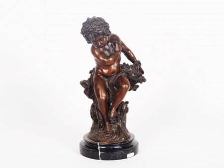Bronze Sculpture Attributed to Auguste Moreau - IB00733