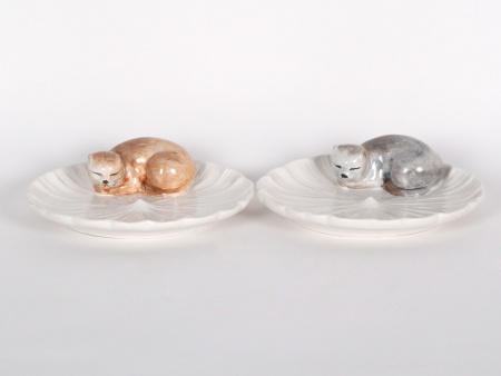 Pair of Dior Porcelain Plates - IB00744