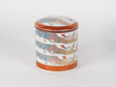 Chinese Porcelain Recipient with Compartments - IB00771