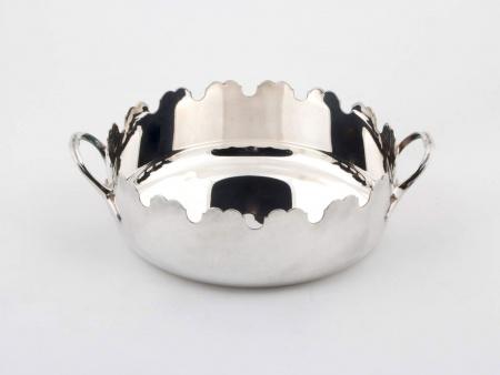 Plasait Silver Plated Metal Dish - IB00790