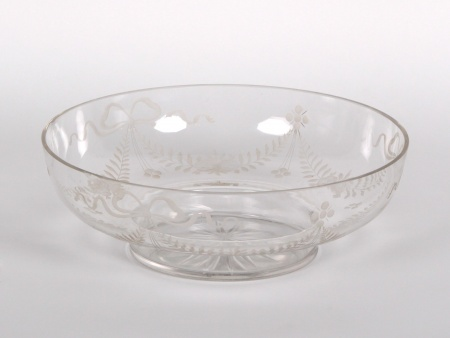 Engraved Crystal Centerpiece - IB00969