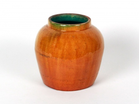 Jar in Glazed Terracotta - IB00974