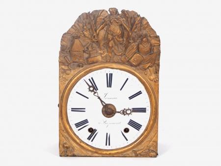 Lasseau Comtoise Clock - IB00986