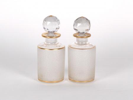 Paire de Flacons en Cristal - IB01107
