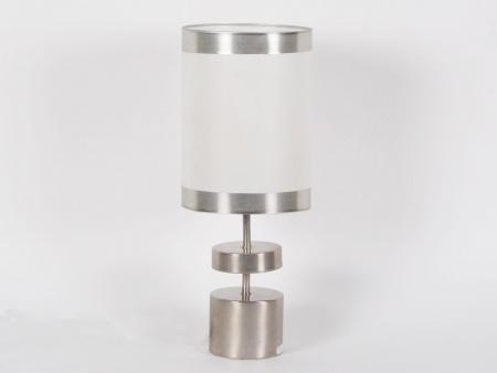 Chrome Steel Lamp Base - IB01200
