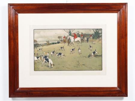"Joseph Causton & Sons: ""The Fallowfield Hunt"" - IB01295"