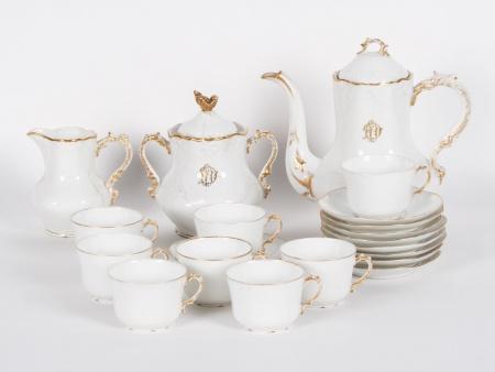 Limoges Porcelain Tea Set - IB01313