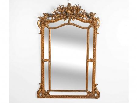 "Large ""Régence"" Mirror - IB01358"