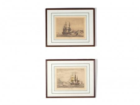 P.C Caussé: Marine Lithographs - IB01499