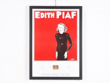"Charles Kiffer: Poster ""Edith Piaf"" - IB01744"
