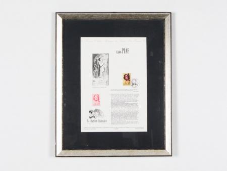 """Charles Kiffer: """"Affiche Historique du Timbre d"""