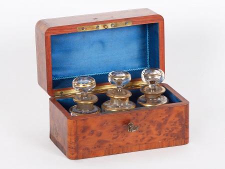 Napoleon III French Scent Case - IB01811