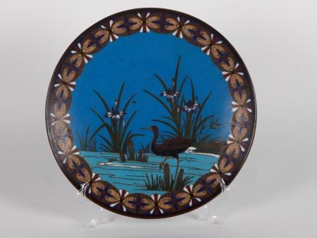 Cloisonné Enamel Plate - IB01874
