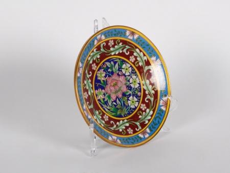 Plate in Cloisonné Enamel - IB01876