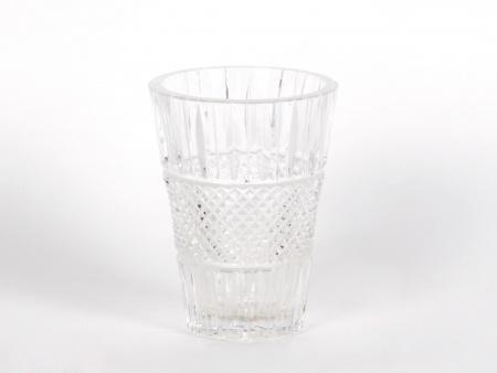 Saint Louis Style Crystal Cut Vase - IB01911