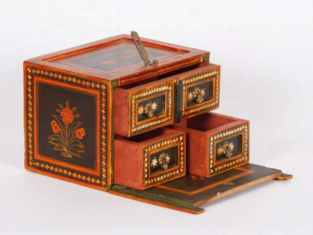 Case Box in Wood Marquetry - IB01990