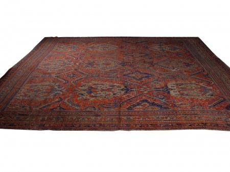 Large 19th Century Oushak Turc Carpet - IB02027