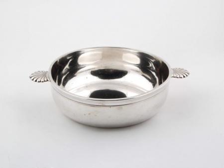 Silver Plated Metal Serving Bowl - IB02203