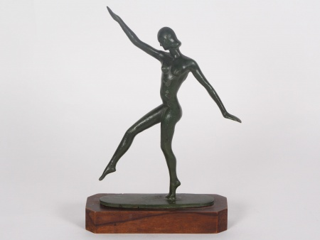 "Bronze Sculpture: ""La Danseuse"" - IB02212"