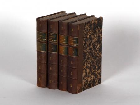 """Four Volumes in Leather Binding """"Historiettes de Tallemant des Réaux"""" - IB02240"""