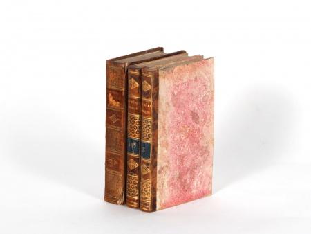 Three 19th Century Bound Books - IB02254