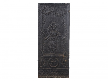 18th Century Cast-Iron Chimney Plate - IB02353