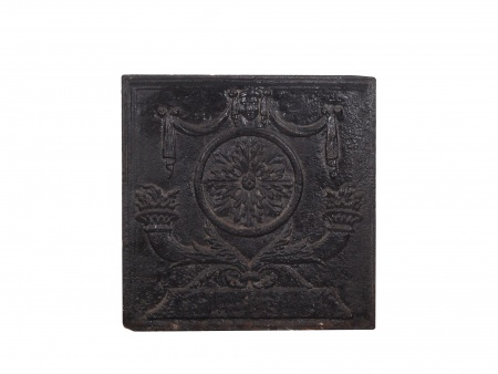 French Cast-Iron Chimney Plate 18th Century - IB02357