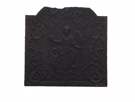 French Chimney Plate From the 18th Century - IB02359