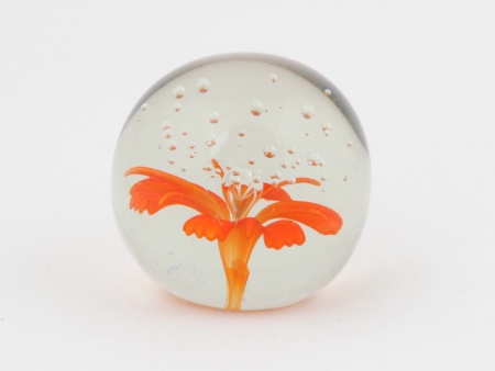 Paperweight with Floral Design. 20th Century - IB02373