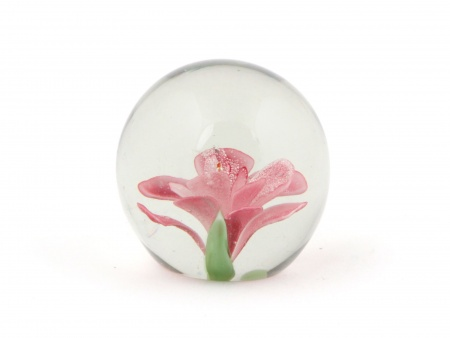 Paperweight with Floral Design. France. 20th Century - IB02374