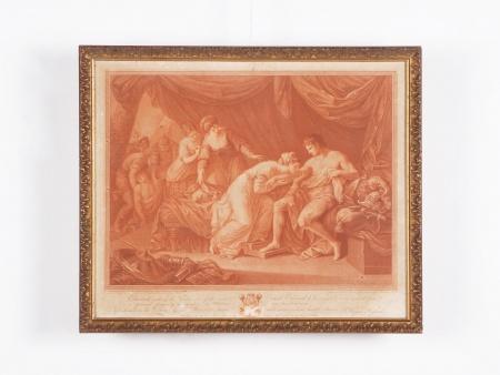 أنجيليكا كوفمان: منقوشة من القرن الثامن عشر - IB02392