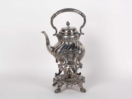 Victorian Kettle on Stand - IB02420