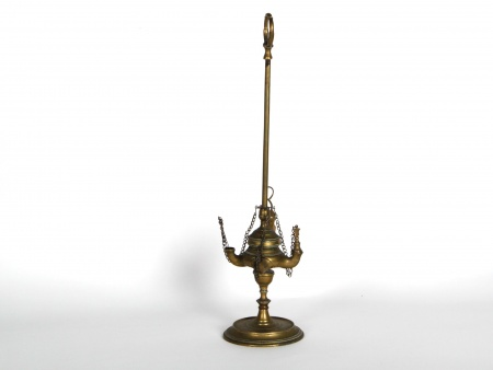 Florentine Brass Oil Lamp - IB02445