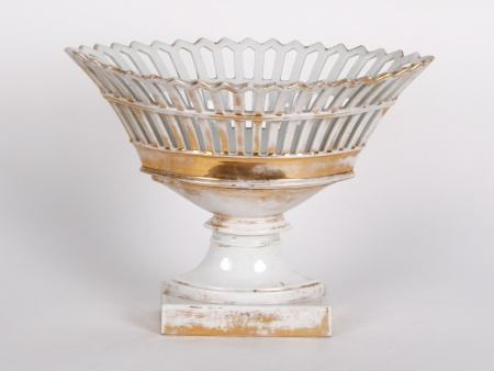 """Large """"Navette"""" Cup in Porcelain - IB02448"""